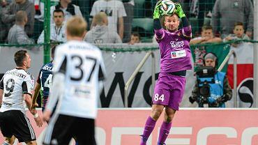 Legia - Pogoń 2:1. Radosław Janukiewicz