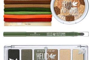 Jesienny makija� essence: kolekcja Hello Autumn