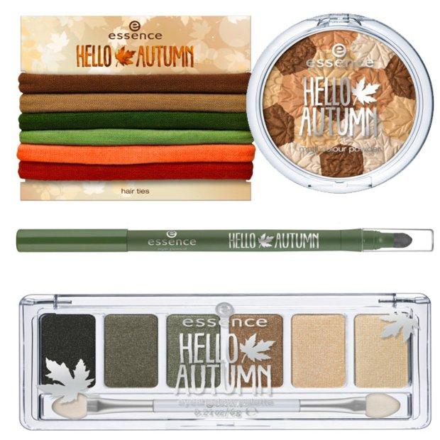 Jesienny makijaż essence: kolekcja Hello Autumn