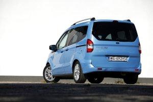 Ford Tourneo Courier 1.6 TDCi Titanium | Test d�ugodystansowy cz. II | Tak samo wysokie co szerokie