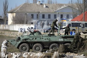 """Ukraina: """"Okupant może przekroczyć granicę każdego dnia"""". Rosja żartuje: """"Niech USA pilnują lepiej Alaski"""" [PODSUMOWANIE]"""