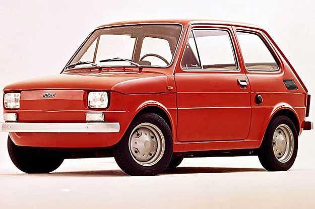 Fiat 126p - najdłużej produkowany w Polsce samochód osobowy (1973-2000)