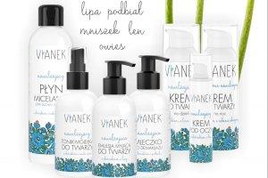 Naturalne kosmetyki polskiej marki VIANEK: seria nawilżająca