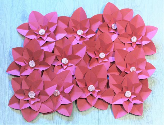 Kwiaty Z Papieru Dekoracja Na Co Dzień I Od święta