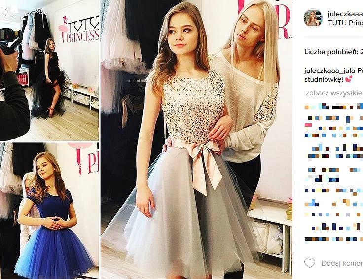 c0350d0fc0 Julia Wróblewska szuka sukienki na studniówkę.