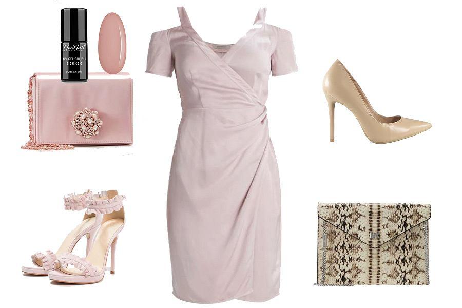 59c41ff1f8eec Różowa sukienka - jak ją wystylizować?