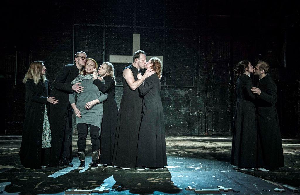 ''Klątwa'' w Teatrze Powszechnym (fot. materiały prasowe) /  materiały prasowe