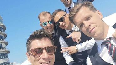 Robert Lewandowski, Kamil Grosicki, Sławomir Peszko, Wojciech Szczęsny, Grzegorz Krychowiak