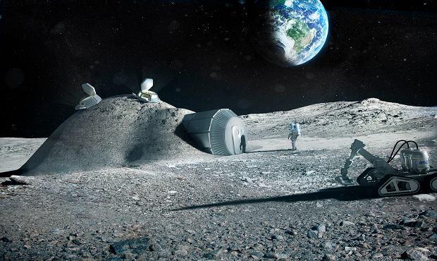 Polska wiertarka poleciała w kosmos