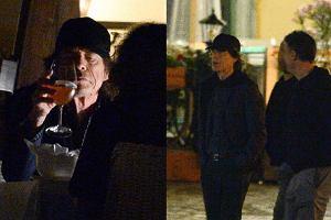 Mick Jagger spaceruje po warszawskiej starówce