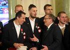 Nafciarze zostali odznaczeni w pałacu prezydenckim
