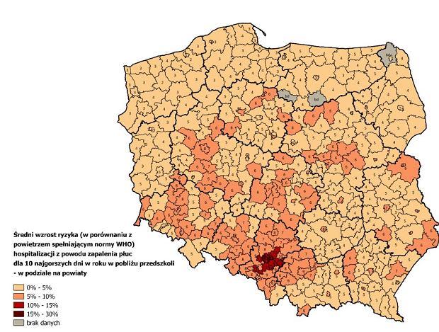 Zdjęcie numer 4 w galerii - Smog truje polskie dzieci... w przedszkolach.Pierwszy taki raport