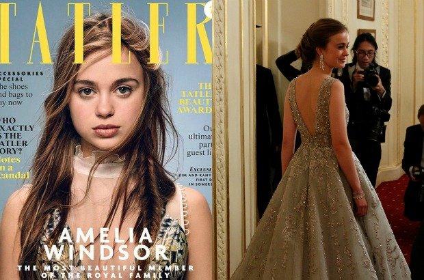 Zdj�cie numer 1 w galerii - Ksi�niczka Amelia to nowa twarz brytyjskiej monarchii. Media m�wi� tylko o niej.
