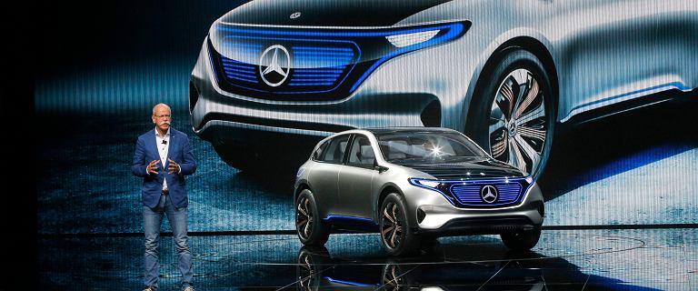 Mercedes nie chce by� tradycjonalist� - prezentuje elektrycznego SUV-a. Ro�nie konkurent dla Tesli?