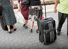 Pasażerowie z bagażem