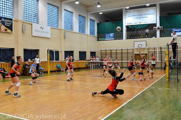 KS Częstochowianka - AZS Uni Opole 0:3