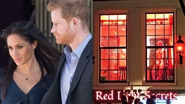 Meghan Markle i książę Harry w dzielnicy czerwonych latarni