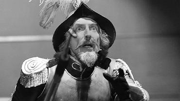Jacek Ryś w roli Don Kichota