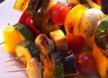 Szaszłyk warzywny - ugotuj