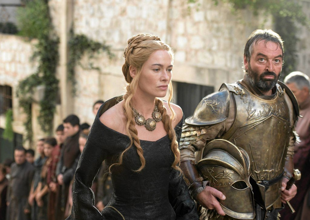 Lena Headey jako Cersei Lannister w