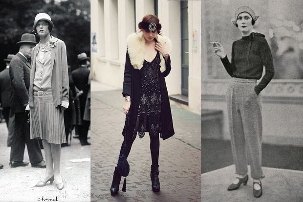 """Z cyklu """"Historia mody w pigułce"""": lata 20."""