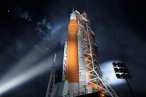 To będzie najpotężniejsza rakieta na świecie. NASA sprawdza moc jednego z gigantycznych silników