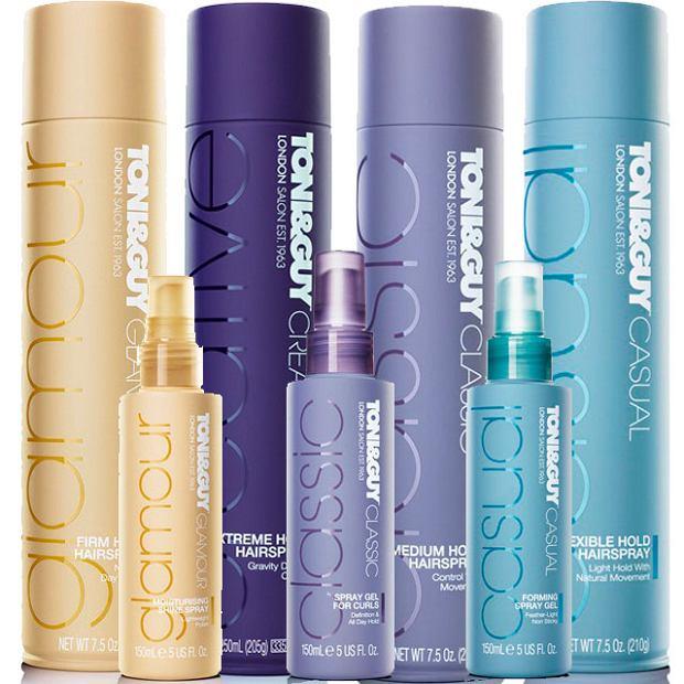 TONI&GUY - brytyjska marka kosmetyk�w do stylizacji i piel�gnacji w�os�w