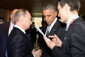 """Putin zadzwoni� do Obamy. Rozmawiali o """"przestrzeganiu zobowi�za�"""" i """"wznowieniu kontakt�w"""""""