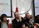PiS potępia akcję w PKW: Wtargnięcie i okupacja nie są rozwiązaniem problemu i mogą tylko pogłębić chaos