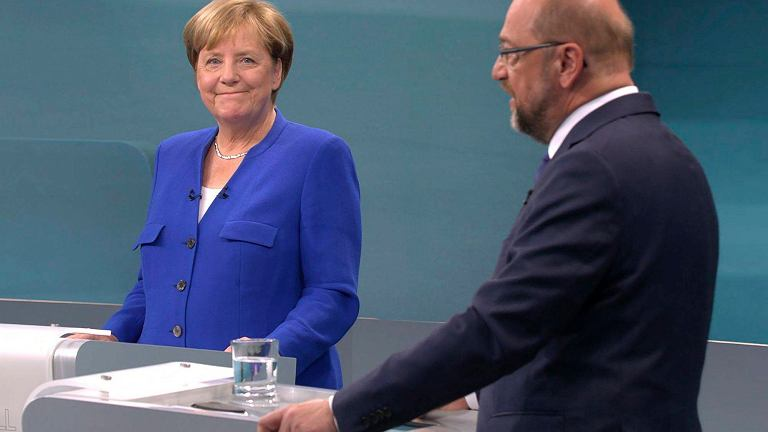 Telewizyjna debata Merkel-Schulz
