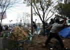 Zamieszki na granicy grecko-macedo�skiej w Idomeni