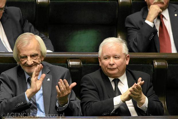 Ryszard Terlecki i Jaros�aw Kaczy�ski