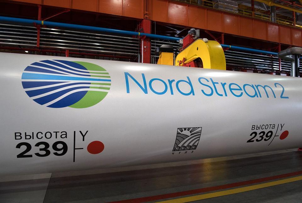 5.12.2016, Czelabińsk, rury z których będzie się składał gazociąg Nord Stream 2