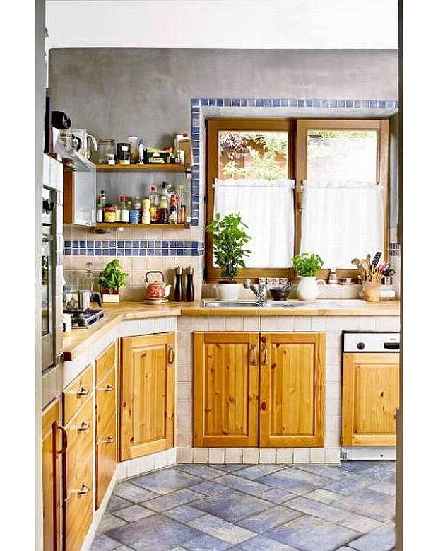 murowane szafki spos243b na niepowtarzaln� kuchnię