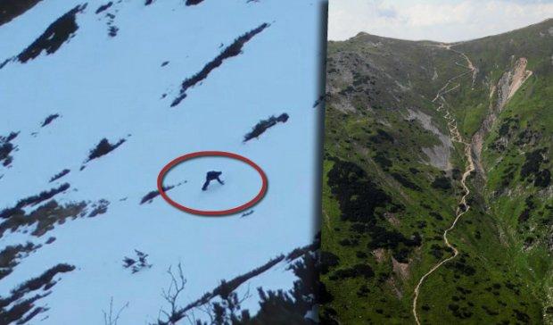 Bezmy�lni tury�ci w Tatrach