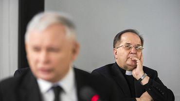 Jarosław Kaczyński i o. Tadeusz Rydzyk