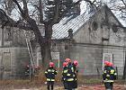 Pożar gospodarstwa na Szeligowskiej
