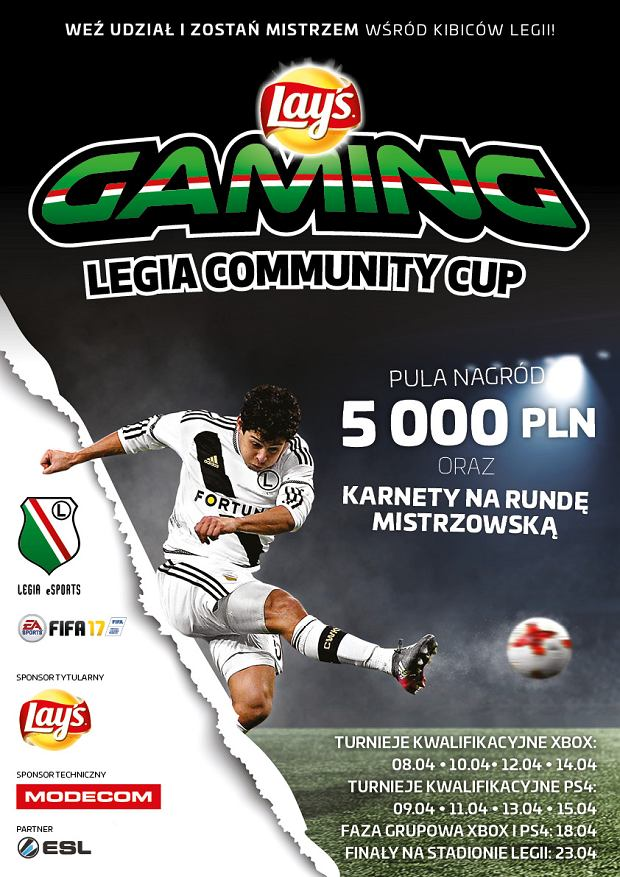 Lay's Gaming Legia Community Cup