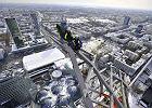 Wiecha na wieżowcu Złota 44 w Warszawie