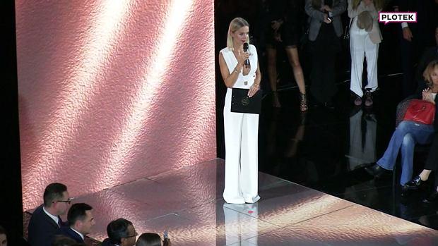 Agnieszka Woźniak-Starak poprowadziła imprezę lodów Magnum, której towarzyszył pokaz marki La Mania. Gwiazda wybrała na tę okazję bardzo odważny strój.