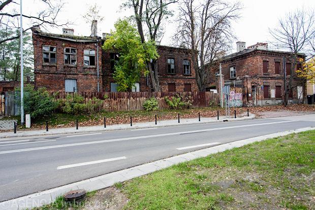 Ul. Objazdowa 1. Pozostałości najstarszej części zabudowań dawnej 'Drucianki'