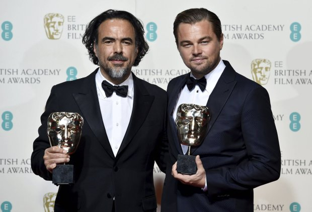 Alejandro Inarritu i Leonardo DiCaprio