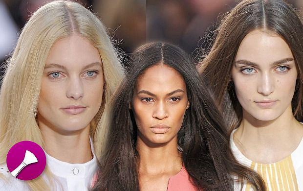 6 krok�w do idealnego naturalnego looku jak na pokazie Chloe SS 2012