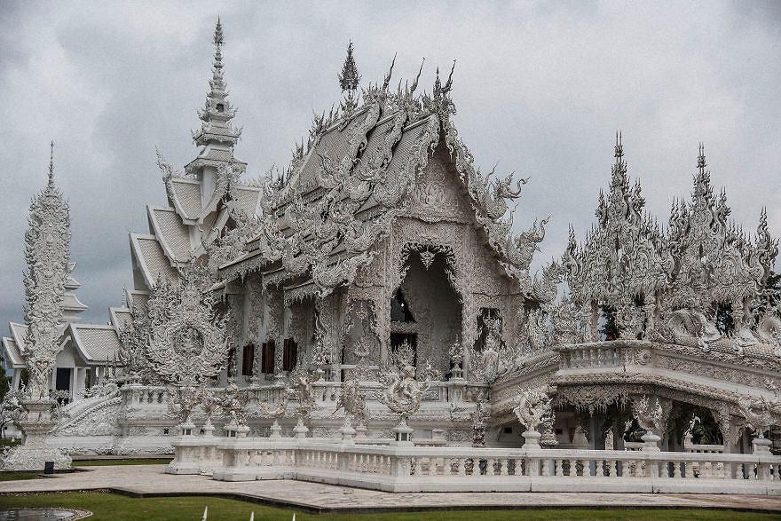 Biała Świątynia - Wat Rong Khun - Tajlandia