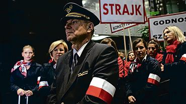 Strajk pracowników Polskich Linii Lotniczych Lot