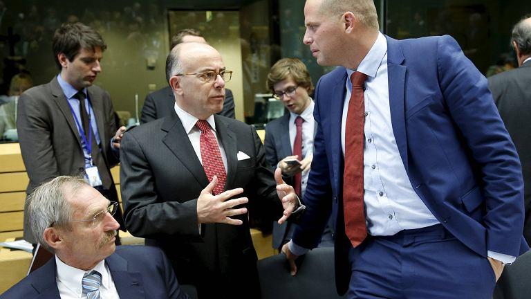 Ministrowie spraw wewnętrznych Węgier i Francji podczas spotkania w Brukseli