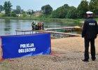 Dwoje młodych ludzi utonęło w jeziorze [ZDJĘCIA]
