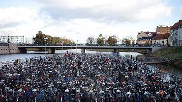 Parking rowerowy w Malmö