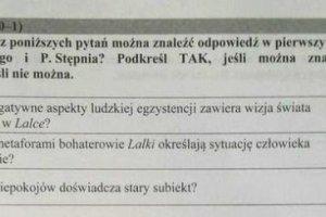 Matura 2016, odpowiedzi, j�zyk polski