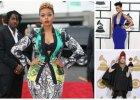 Oto najbardziej kontrowersyjne stylizacje z gali Grammy 2014. Madonna, Paris Hilton, a mo�e Cindy Lauper - kto (za bardzo) poszed� na ca�o��? [ZDJ�CIA]